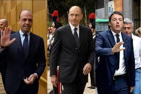 LETTA,RENZI,ALFANO